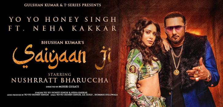 Saiyaan Ji Lyrics by Yo Yo Honey Singh
